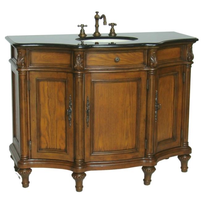 46 wide hamilton sink vanity