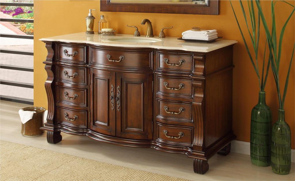 60 Inch Ohio Vanity Bathroom Vanity Sale Single Sink Vanity