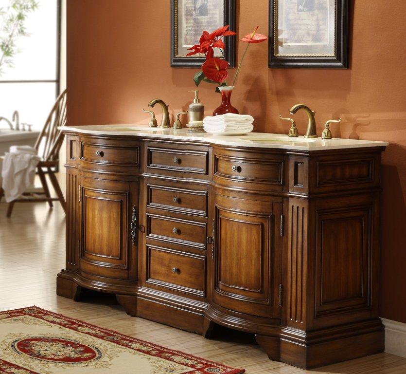 72inch Arlington Vanity Wood, Bathroom Vanities Clearance 72 Inch Double Sink