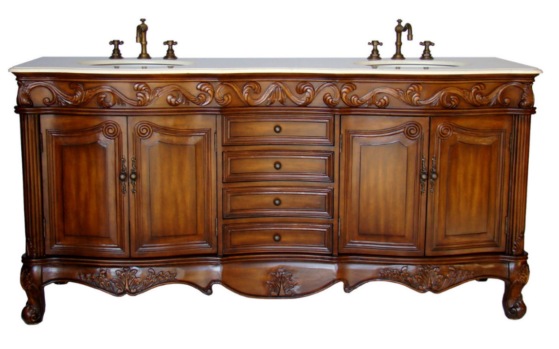 72 Inch And Over Vanities Double Sink Vanities