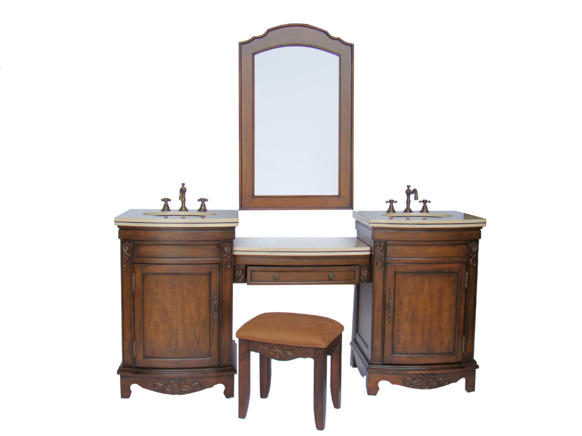 75 Inch Bridge Vanity Bridge Vanity Set Bridge Sink Vanity