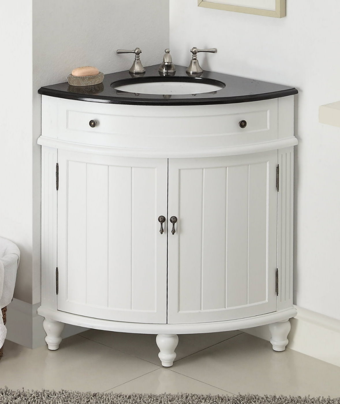 Bathroom Corner Sink Vanity : ... bathroom corner sink vanity corner bathroom vanity corner sink cabinet