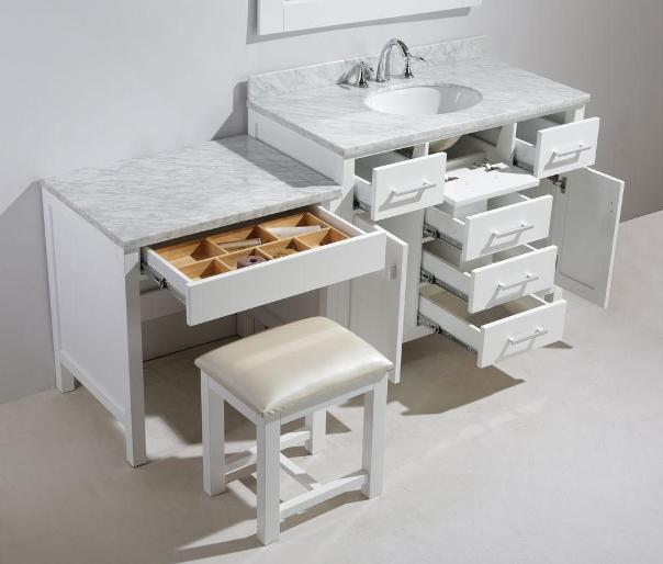 matching height with in bathroom pictures makeup vanity table