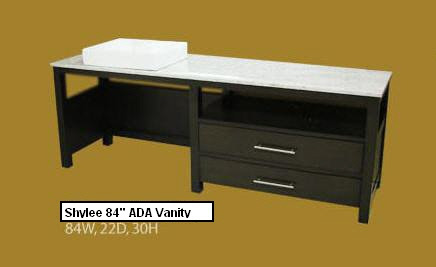 ada compliant bathroom vanity also available are matching set linen tower cabinets click here completed in