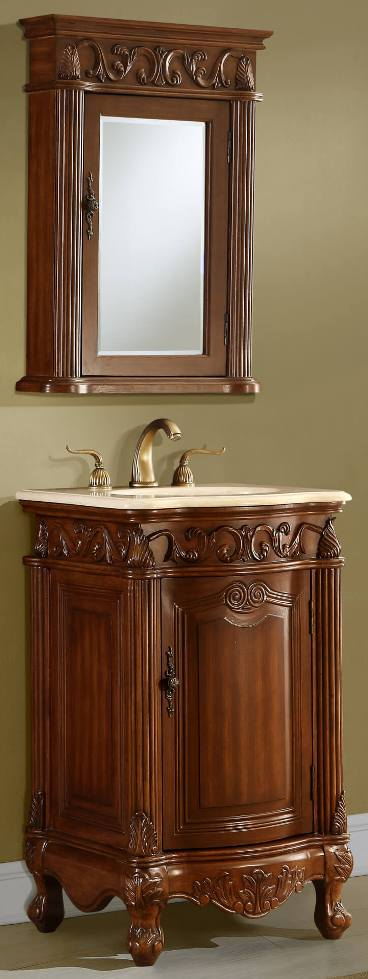 12 Inch To 29 Inch Wide Vanities | Ornate Sink Vanity | Antique Style Vanity