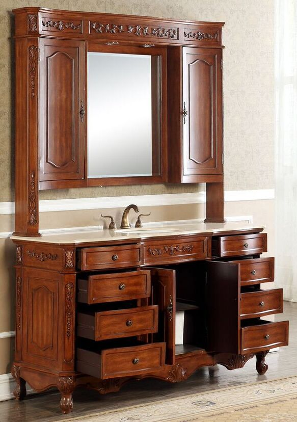 60 Inch Cortina Vanity Single Sink Vanity Vanity With