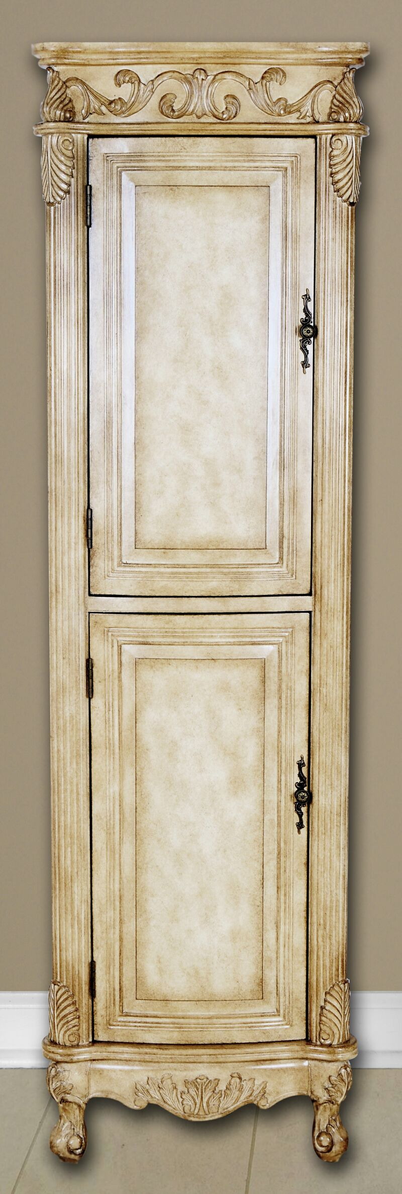 Add Two Door Linen Cabinet: 21