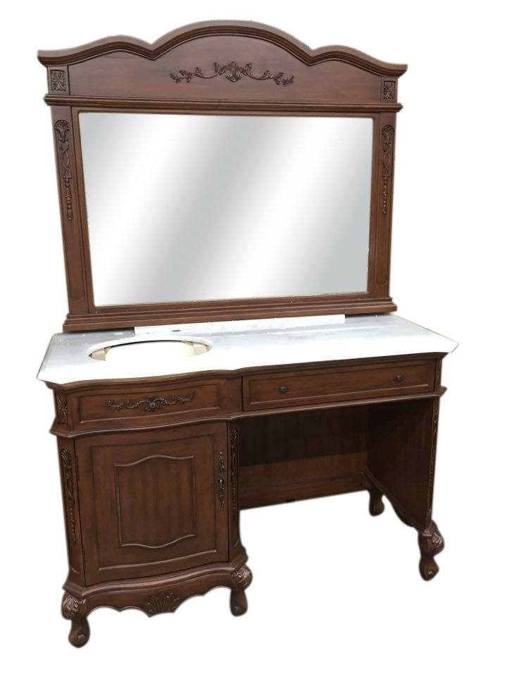 Dark dressing jacuzzi double bowl vanity unit for Table fifty two 52 w elm st chicago il 60610
