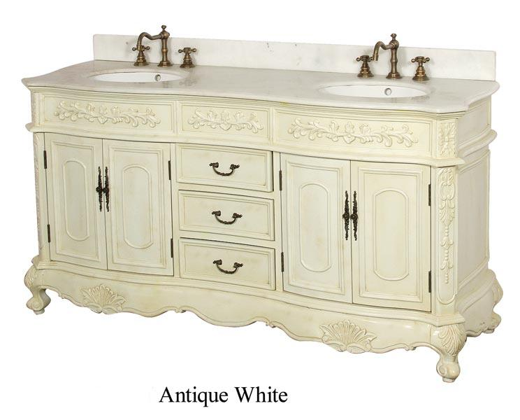 Kara Double Vanity Antique Victorian Vanity