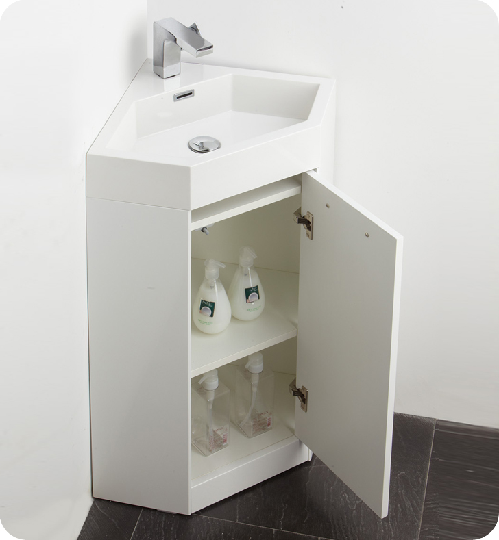 Lovely Corner Bathroom Sink With Amazing Designs Small Corner Wall