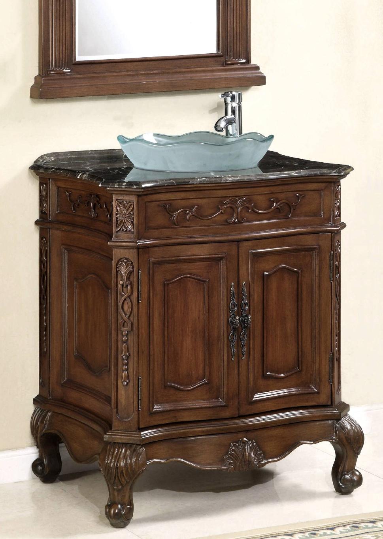29 Inch Vanity Set Vanity With Mirror Vessel Sink Vanity