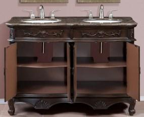 50 to 59-Inch Vanities | Makeup Sink Vanity | Large Sink ...