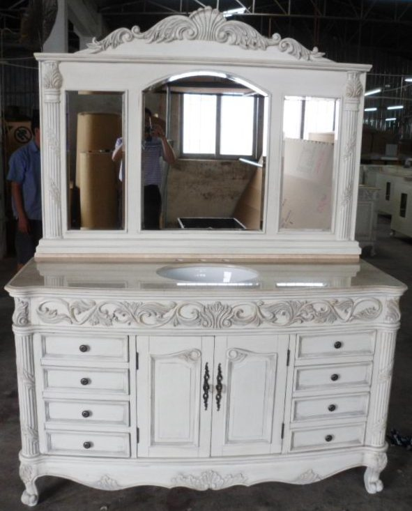 inch regent vanity  single sink vanity  vanity with mirror, Bathroom decor