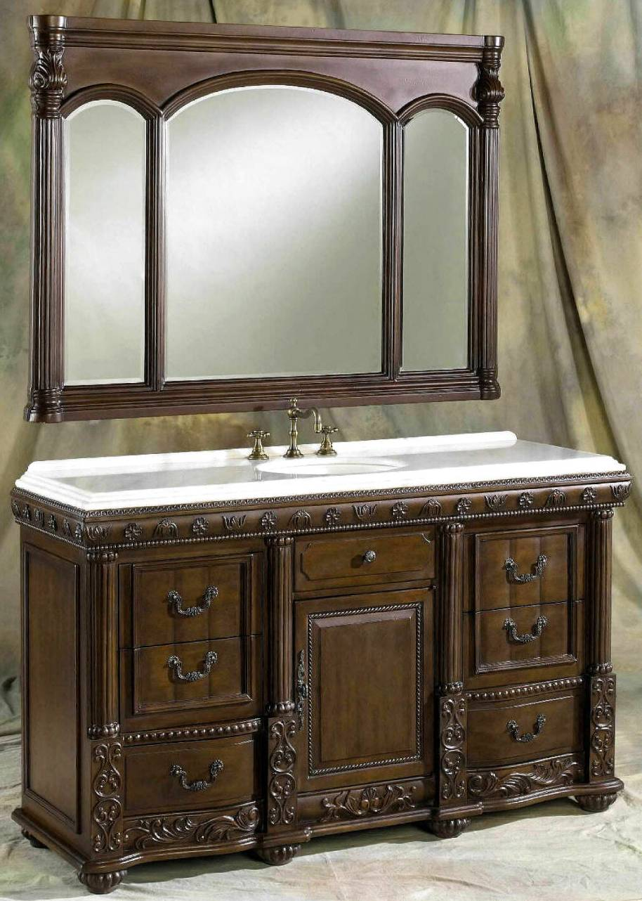 60 69 inch vanities double bathroom vanities double - 50 inch double sink bathroom vanity ...