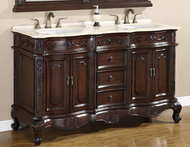 double vanity sink 60 inches.  60 Inch Acura Vanity Matching Set Mirror Sink