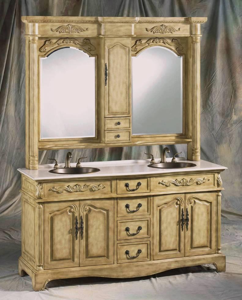 vanity with hutch | 68inch double vanity | bathroom vanity hutch