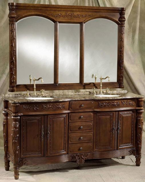 73 Inch Christy Vanity Double Bathroom Vanity Cabinets