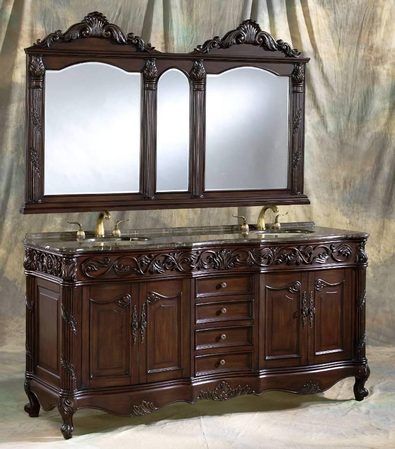 72 Inch And Over Vanities Double Sink Vanities Bathroom Vanity Furniture