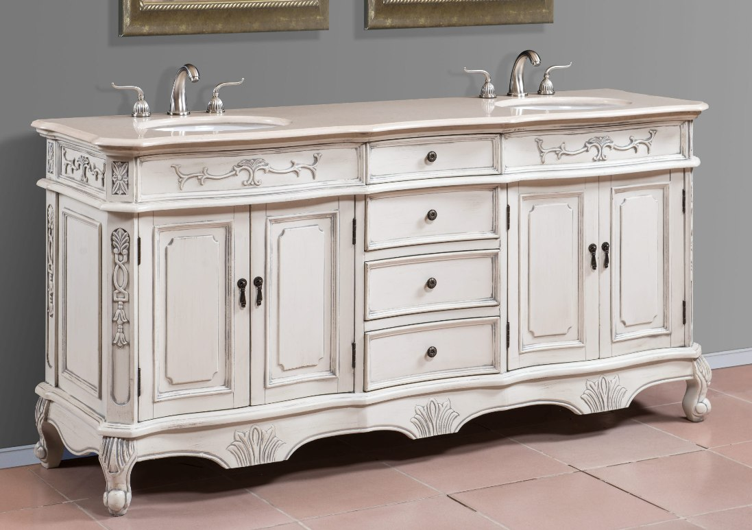 Double Sink Vanities Large Bathroom Vanities Double