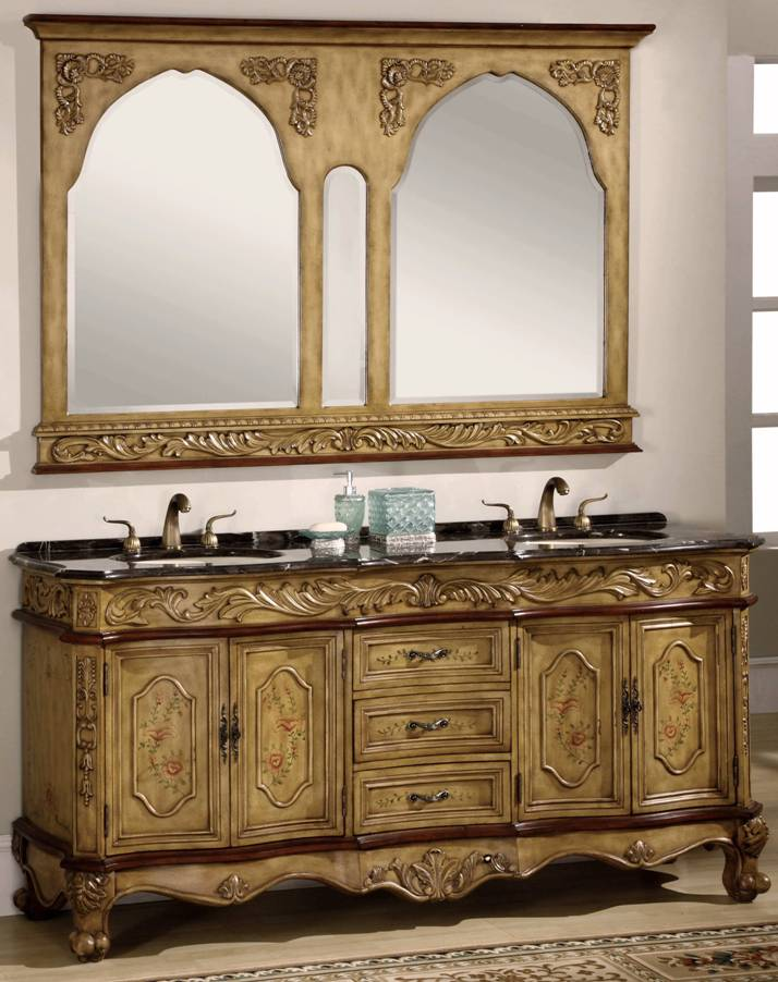 73 inch Midland Vanity | Old World Vanity | Charming ...