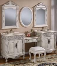 Bathroom Vanity on Inch And Over Vanities   Bathroom Sink Vanities   Double Sink Vanity