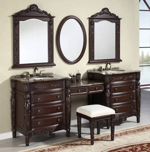 80 inch and over Vanities | Bathroom Sink Vanities