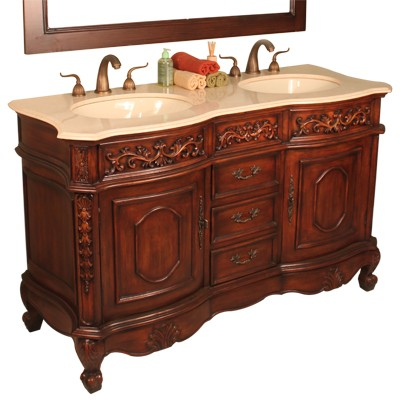 56inch Ramzi Vanity 56 Double Vanity Ramzi Vanity Collection