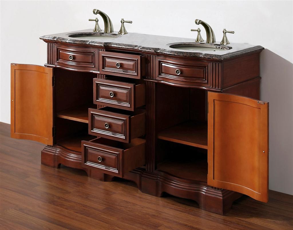 58inch Gilbert Vanity Special Vanity Sale Bathroom