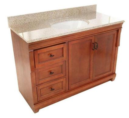 60 inches Georgina Vanity | Solid Wood Vanity | Hardwood ...