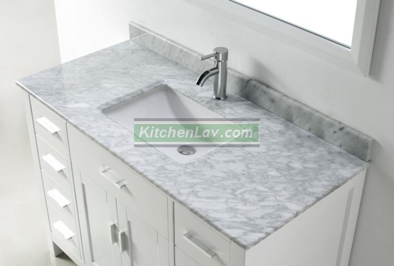 48-Inch Asta Vanity | White Sink Vanity | Espresso Sink Vanity