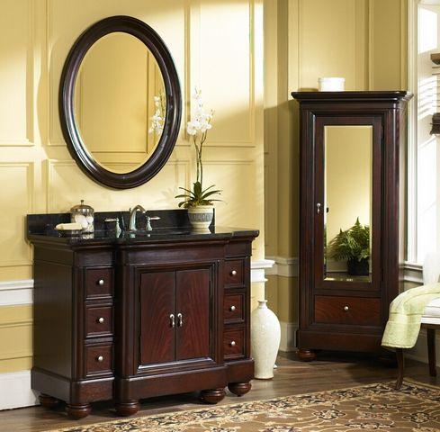 Bathroom Cabinets Victorian 48 inch vanity | victorian style vanity