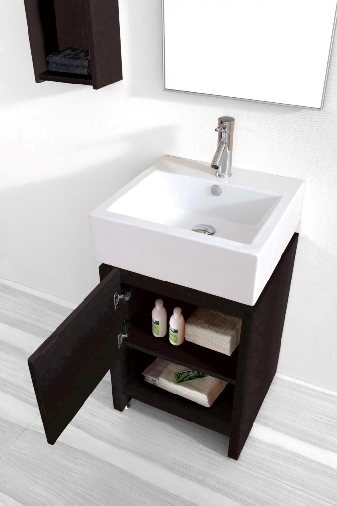 20 Inch Gulia Vanity | Space Saving Cabinet | 20-inch wide ...