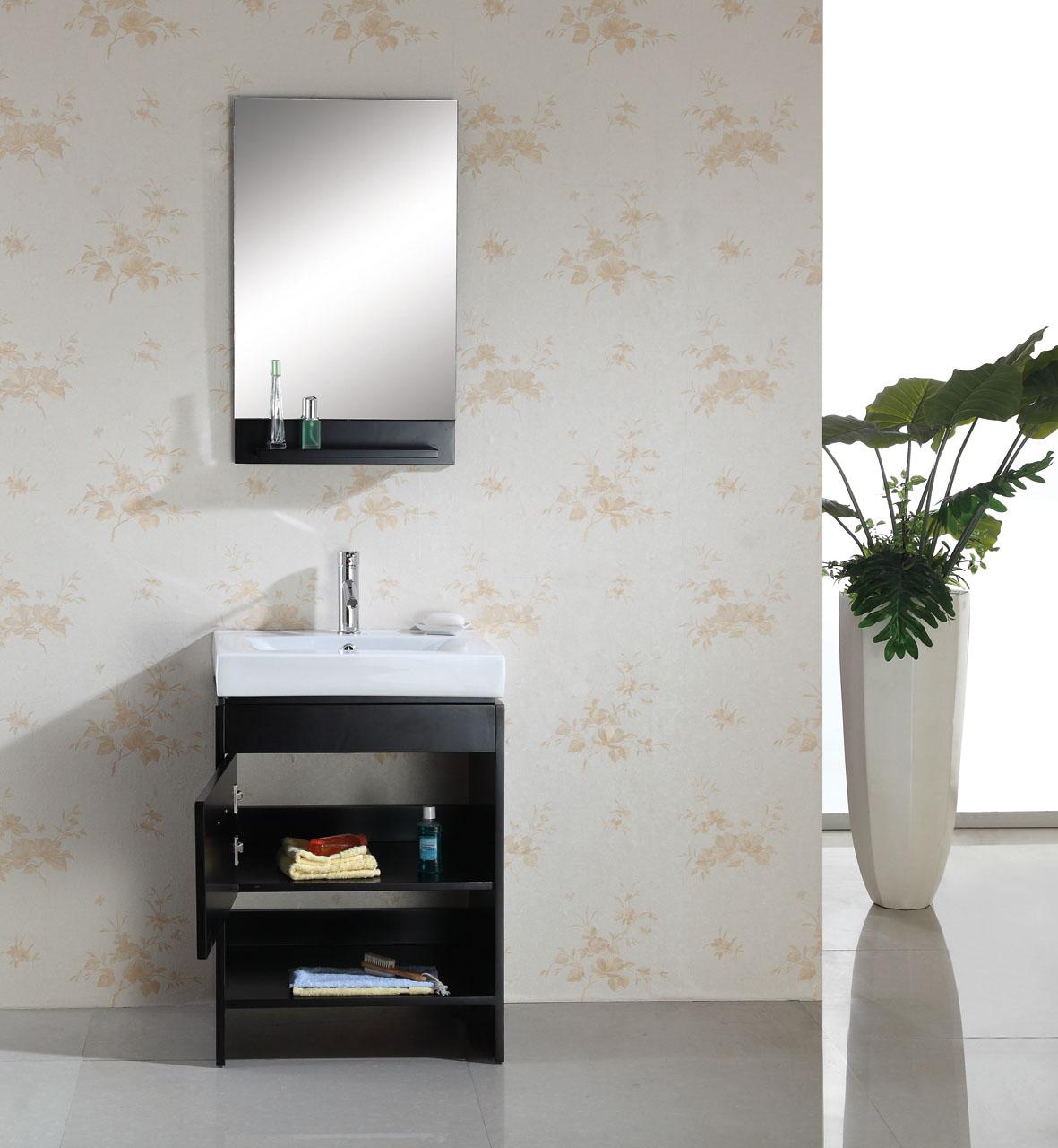 24-Inch Bea Vanity | Space Saving Vanity | Contemporary Sink Cabinet