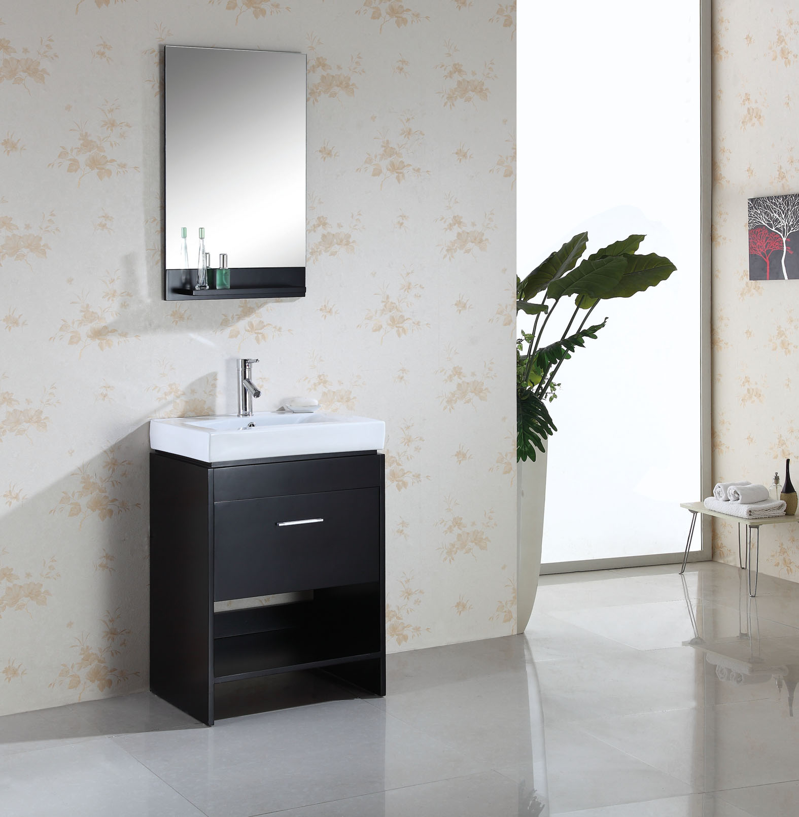 24 inch bea vanity space saving vanity contemporary
