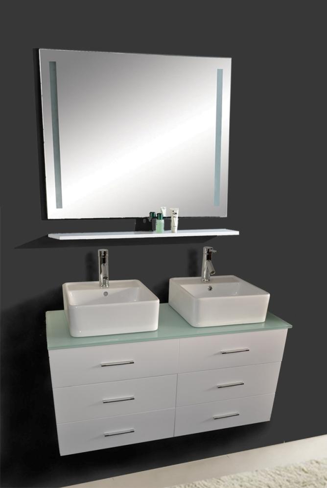 47 inch vanity wall hung vanity white sink vanity
