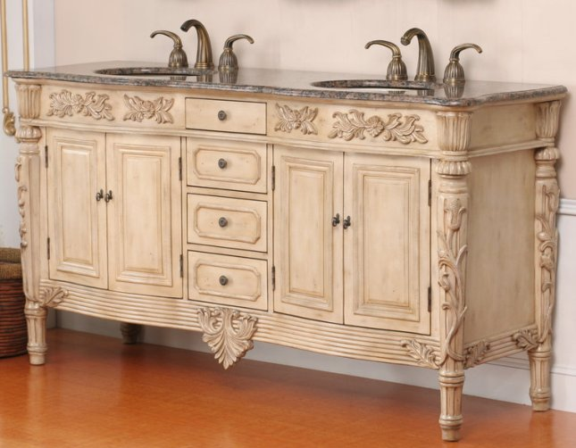 67 ana vanity antique white vanity 67 inch double vanity