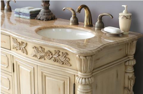 67 ana vanity antique white vanity 67 inch double vanity - Antique white double sink bathroom vanities ...