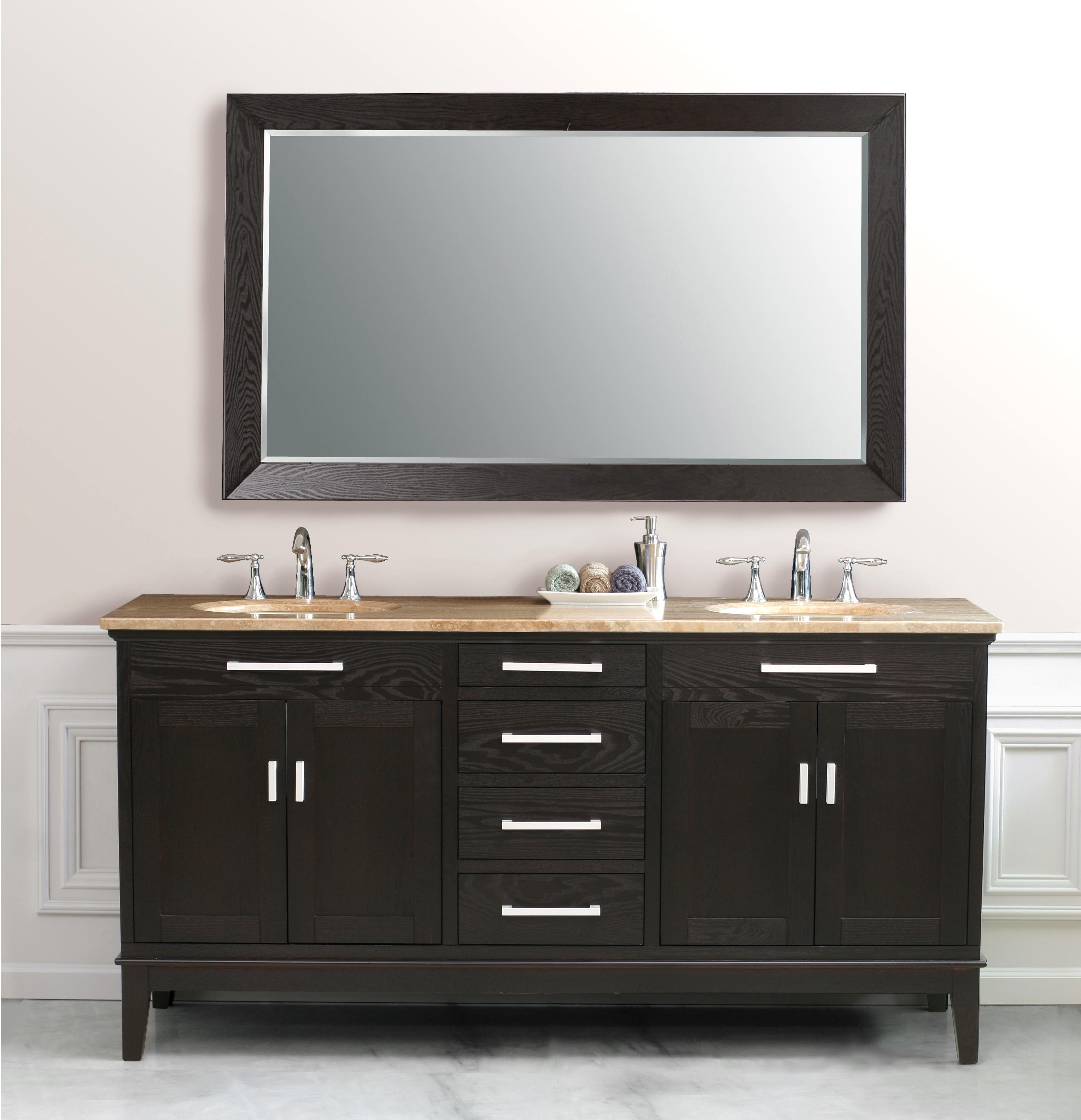 72-inch idaho vanity |dark espresso vanity | espresso double vanity