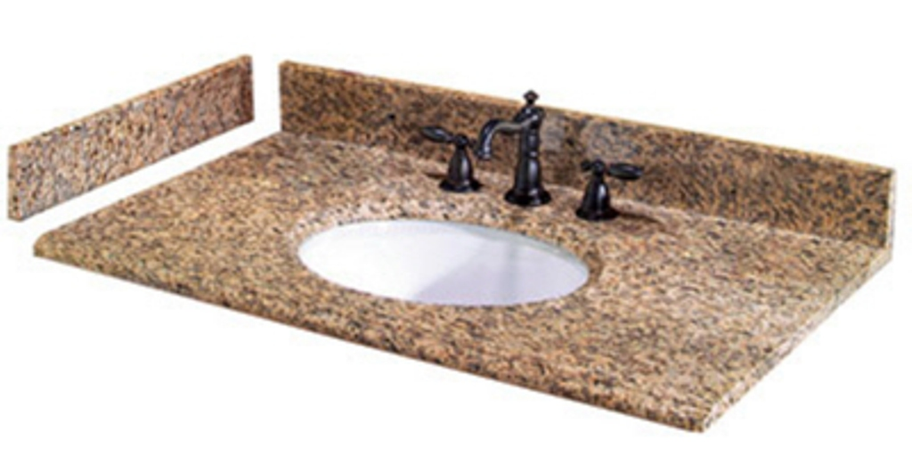 Vanity Sink Top With Sinks | Glass Vanity Top | Marble Vanity Top | Granite  Vanity Top