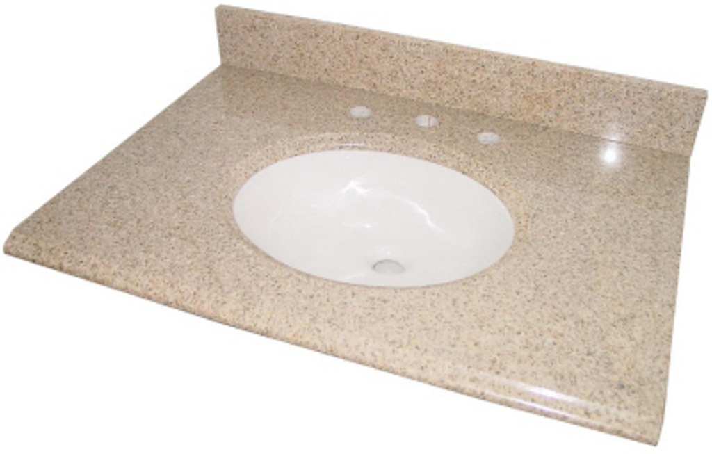 granite top lesscare vanity x wheat tops model catalog vanitytops granitetops bathroom spread