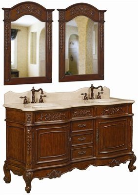 59inch yorkshire vanity vanity with cabinet matching for Bathroom cabinets yorkshire