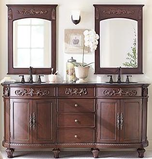 72 Inch And Over Vanities Double Sink Bathroom Vanity Furniture