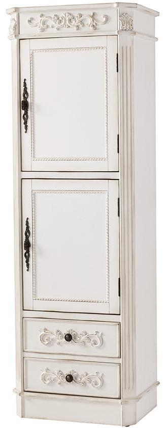 20 Inch Wide Sunrise Linen Cabinet 2 Door With Drawes For Extra Organized Storage Located At Bottom Of