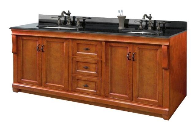 60 Inches Georgina Vanity Solid Wood Vanity Hardwood Vanity