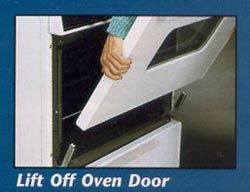 Lift Off Oven Door