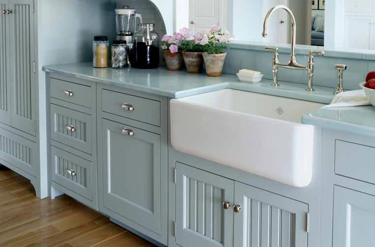 Country Kitchen Sink : Rohls Allia Fireclay Kitchen Sink s