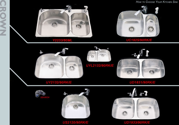 Show Me Kindred Designer Series Kitchen Sinks