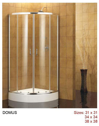 domus shower enclosure available in three sizes - Dreamline Shower